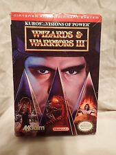 Wizards & Warriors III: Kuros: Visions of Power (Nintendo Entertainment System,