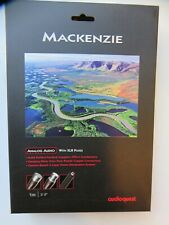 "AudioQuest Mackenzie Male XLR to Female XLR Cable - 40"" (1.0M) Pair NEW"