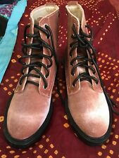 Dolce Vita Bardot Boot in Rose Velvet. Size 4.5. Brand New, Perfect Condition