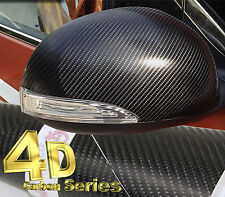 4D Gloss【BLACK1520mm(59.8in)x300mm(11.8in)】Carbon Fibre Vinyl Wrap Sticker Sheet
