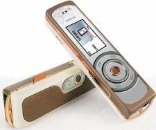 Nokia 7380 cálido Amber original (sin bloqueo SIM) Fashion-Phone 2,0mp mp3 radio nuevo