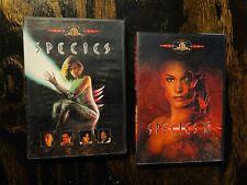 species dvd species 2 dvd scary halloween horror sci-fi movie