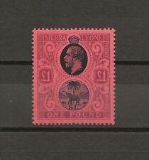 SIERRA LEONE 1912-21 SG 128 MINT Cat £250