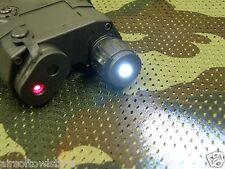 Airsoft PEQ-15 LA5 FMA Torch White LED w/ Red Laser Sight 20mm Rail AEG (54)