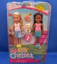 Barbie~Club Chelsea~2 Dolls~Puppy~2017