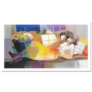 "Hessam Abrishami ""Daylight Dream"" Signed Limited Edition Serigraph Canvas COA"