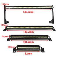 Metal Roof Spotlight LED Light Bar Lamp for 1/10 TRAXXAS TRX4 90046 SCX10 RC Car