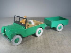 Dinky Toy LAND ROVER #340 TRAILER #341