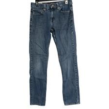 Tony Hawk  Men Skinny Jeans Denim Low Rise Size 32 Blue