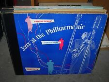 "NORMAN GRANZ jazz at philharmonic vol 8 ( jazz ) 10"" mercury - 3 x 78 -"