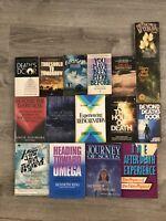 Occult Psychic NDE 16 Book Lot Spirituality Reincarnation