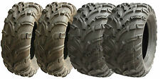 Set of 4 quad tyres 25X10-12 and 25X11-12 6ply E-marked road legal atv tyres