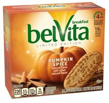 Belvita Pumpkin Spice Breakfast Bisciuts 8.8 oz Box