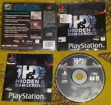 HIDDEN & DANGEROUS - PlayStation 1 And PS1 Gioco Game Play Station