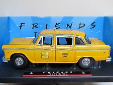 FRIENDS THE TV SERIES PHOEBE BUFFAYS 1977 NYC TAXI CAB 1:18 DIECAST