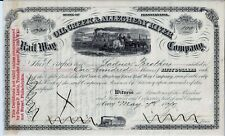 The Oil Creek & Allegheny River Rail Way Company, 1875 (100 Shares)