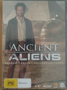 BRAND NEW Ancient Aliens : Season 12 Collection 3 (DVD, 3-Disc Set) R4