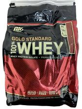Optimum Nutrition ON 100% Whey Protein Powder Isolate Gold Strawberry 10lb
