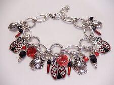 Brighton Palmer Ladybug Bracelet Red & Black B208