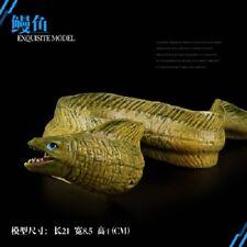 Original wild Animal sealife Model eel figurine Collectible kids educational toy