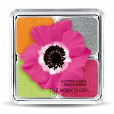 "*New* The Body Shop Limited Edition Shimmer Cubes Eyeshadow Quad 32 ""Pink"""
