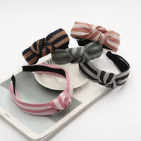 Fashion Women's Stripe Twist Headband Knotted Hairband Hair Hoop Accessories
