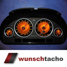 """Cadran de compteur de vitesse pour BMW e38-e39/E53/X5 """" flamme """" Essence"""