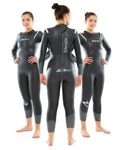 Zone 3 Advance Womens Triathlon Open Water Swimming Wetsuit Size Large RRP £219