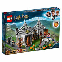 75947 LEGO Harry Potter Hagrid's Hut: Buckbeak's Rescue with Hippogriff 496pcs
