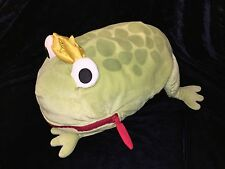 "FROG PRINCE Ikea Minnen Groda 18"" Pillow Pajama PJ BAG 18"" Plush Stuffed Storage"