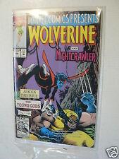 USA COMIC WOLVERINE,NIGHTCRAWLER,GHOST RIDER,DR STRANGE,THING 1992 NO 105 MARVEL