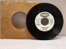 DEE & JOE 45 RPM RADIO PROMO Who Is It Gonna Be / I Found A Love. VERY RARE L@@K