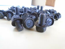 1/4-20 X 3/8 (13/32) BLACK SQUARE CONE WASHER BOLT SCREW LOT OF 100