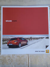 Renault Megane Coupe brochure Oct 2010 Irish market