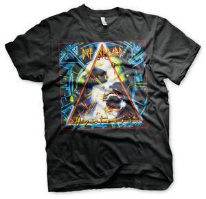Official Licensed Def Leppard - Hysteria Album Cover Men's /Unisex T-Shirt S-XXL
