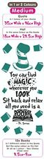 Dr Seuss Quote You can find magic Vinyl Decal Wall Art / Book / Lorax / Cat Hat