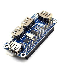 4 Port USB HUB HAT USB to UART compatible with USB2.0/1.1 for Raspberry Pi/Zero
