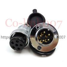 GX25 5Pin Flange Aviation Waterproof Connector,150V Industrial Power Plug Socket