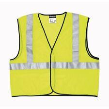 Safety Works CVCL2MLL Large Bright Lime Safety Vest 3 Pocket