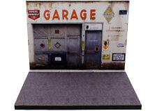 Diorama présentoir Garage Delannoy Agent Renault - 1/43ème - #43-2-A-A-073