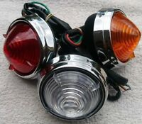 1 x  Repro Front Lamp Light + Lens Clear Amber or Red as Lucas L539 pick up