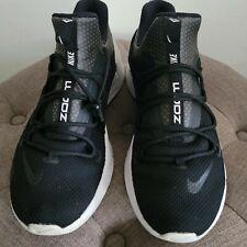 Nike Air Zoom Grade, Mens Black Basketball Shoes, Size 11.5