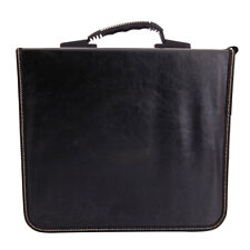 520 Disc CD DVD Check Pattern Storage Bag Organizer Holder Case Khaki & Black