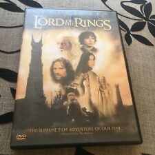 WIDESCREEN. THE LORD OF THE RINGS DVD. THE TWO TOWERS