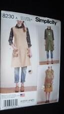 Simplicity 8230 Pattern  Vintage Apron Dress  Sizes 6-24