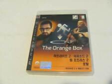 The orange box ps3---KOREAN  VERSION RARE
