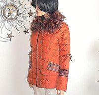 Biba bildschöne Winterjacke Jacke Kunstpelzkragen * Rocking Colors * Gr.34 Neuஜ