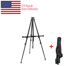 Iron Foldable Telescopic Easel Tripod Display Stand Field Studio Painti Tool Us