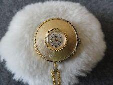 Wind Up Necklace Pendant Watch Dominique 17 Jewels Shock Resistant