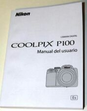 NIKON COOLPIX P100 DIGITAL CAMERA INSTRUCTION MANUAL -WITH SPANISH TEXT ONLY